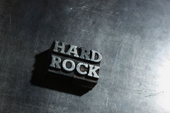 σκληρός βράχος μετάλλων ανασκόπησης Στοκ Εικόνα
