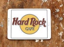σκληρό θέμα βράχου εστιατορίων λογότυπων αλυσίδων καφέδων Στοκ Φωτογραφίες