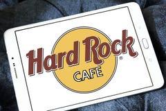 σκληρό θέμα βράχου εστιατορίων λογότυπων αλυσίδων καφέδων Στοκ φωτογραφίες με δικαίωμα ελεύθερης χρήσης