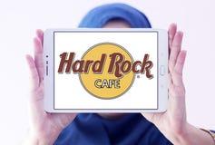σκληρό θέμα βράχου εστιατορίων λογότυπων αλυσίδων καφέδων Στοκ φωτογραφία με δικαίωμα ελεύθερης χρήσης