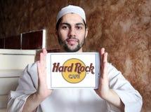 σκληρό θέμα βράχου εστιατορίων λογότυπων αλυσίδων καφέδων Στοκ Εικόνες