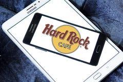 σκληρό θέμα βράχου εστιατορίων λογότυπων αλυσίδων καφέδων Στοκ εικόνα με δικαίωμα ελεύθερης χρήσης