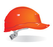 σκληρό κόκκινο καπέλων Στοκ εικόνες με δικαίωμα ελεύθερης χρήσης