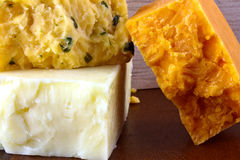 Σκληρό τυρί Στοκ εικόνες με δικαίωμα ελεύθερης χρήσης