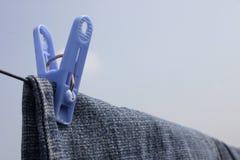 σκοινί για άπλωμα ΙΙ Στοκ εικόνες με δικαίωμα ελεύθερης χρήσης