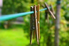 σκοινί για άπλωμα Στοκ Εικόνες