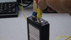 Σκοινί μπαλωμάτων βαρελοποιών ενθέτων μηχανικών ΤΠ στη δοκιμασμένη συσκευή φιλμ μικρού μήκους