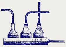 Σκοινί δύναμης Ύφος Doodle Στοκ εικόνα με δικαίωμα ελεύθερης χρήσης