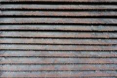 Σκονισμένα ραγισμένα και γρατσουνισμένα κάγκελα εξαερισμού Στοκ φωτογραφία με δικαίωμα ελεύθερης χρήσης