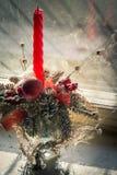 Σκονισμένη διακόσμηση Χριστουγέννων Στοκ Εικόνα