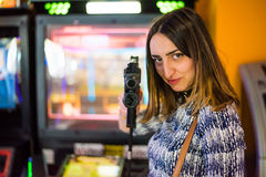 Σκοπευτές Arcade Στοκ εικόνες με δικαίωμα ελεύθερης χρήσης