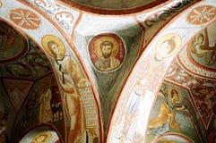 σκοτάδι εκκλησιών Στοκ εικόνα με δικαίωμα ελεύθερης χρήσης