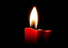 σκοτάδι κεριών Στοκ Φωτογραφία