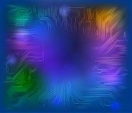 σκοτάδι κυκλωμάτων χαρτονιών ανασκόπησης Στοκ εικόνα με δικαίωμα ελεύθερης χρήσης