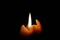 Σκοτάδι και κερί Στοκ εικόνα με δικαίωμα ελεύθερης χρήσης