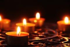 σκοτάδι κεριών Στοκ Φωτογραφίες