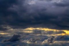 Σκοτάδι ουρανού Στοκ εικόνα με δικαίωμα ελεύθερης χρήσης