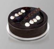 σκοτάδι σοκολάτας κέικ Στοκ Φωτογραφίες