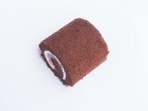 σκοτάδι σοκολάτας κέικ Στοκ Φωτογραφία