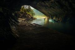 Σκοτάδι σπηλιών Στοκ φωτογραφίες με δικαίωμα ελεύθερης χρήσης