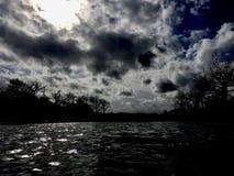Σκοτάδι χρωμίου Στοκ φωτογραφία με δικαίωμα ελεύθερης χρήσης