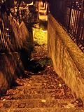 σκοτεινά βήματα στοκ φωτογραφία με δικαίωμα ελεύθερης χρήσης
