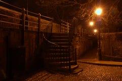 σκοτεινά βήματα Στοκ Εικόνες