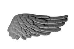 Σκοτεινά φτερά ασβεστοκονιάματος Στοκ Εικόνα