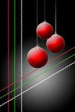 Σκοτεινά Χριστούγεννα Στοκ φωτογραφίες με δικαίωμα ελεύθερης χρήσης