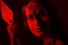 σκοτεινά huntress Στοκ εικόνα με δικαίωμα ελεύθερης χρήσης