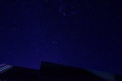 σκοτεινά snowdrifts νυχτερινού ουρανού απεικόνισης Στοκ Φωτογραφίες
