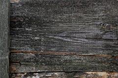 Σκοτεινές ξύλινες ρωγμές μαγισσών σύστασης πινάκων Στοκ φωτογραφία με δικαίωμα ελεύθερης χρήσης
