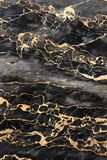σκοτεινές χρυσές μαρμάριν& Στοκ Εικόνα