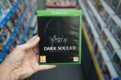 Σκοτεινές ψυχές 2: Μελετητής πρώτο videogame αμαρτίας σε XBOX ένα Στοκ Εικόνα