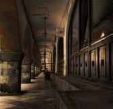 Σκοτεινή αλέα Στοκ Εικόνα
