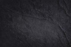 Σκοτεινή γκρίζα μαύρη σύσταση πλακών στο φυσικό σχέδιο μαύρος τοίχος πετρών Στοκ Φωτογραφία