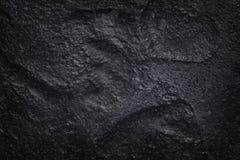 Σκοτεινή γκρίζα μαύρη σύσταση πλακών στο φυσικό σχέδιο μαύρος τοίχος πετρών Στοκ Φωτογραφίες