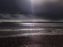 σκοτεινή θάλασσα Στοκ φωτογραφία με δικαίωμα ελεύθερης χρήσης