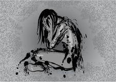Σκοτεινή κατάθλιψη απεικόνιση αποθεμάτων