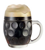 σκοτεινή κούπα μπύρας Στοκ εικόνες με δικαίωμα ελεύθερης χρήσης