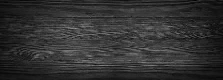 Σκοτεινή μαύρη ξύλινη σύσταση πανοραμικό εκλεκτής ποιότητας αγροτικό ύφος Ξύλο Στοκ εικόνες με δικαίωμα ελεύθερης χρήσης