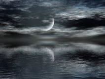 σκοτεινή νύχτα Στοκ εικόνες με δικαίωμα ελεύθερης χρήσης