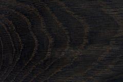 Σκοτεινή ξύλινη σύσταση, υπόβαθρο Παλαιά φυσική βαλανιδιά Στοκ Εικόνες