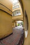 σκοτεινή πύλη παλαιά θόλος Isaac Πετρούπολη Ρωσία s Άγιος ST καθεδρικών ναών Στοκ φωτογραφία με δικαίωμα ελεύθερης χρήσης