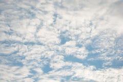 σκοτεινή δραματική θύελλα σύννεφων Στοκ Φωτογραφίες