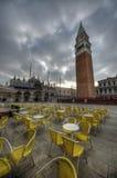 Σκοτεινή σκηνή της Βενετίας Στοκ φωτογραφία με δικαίωμα ελεύθερης χρήσης