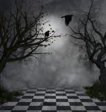 σκοτεινή σκηνή Στοκ φωτογραφία με δικαίωμα ελεύθερης χρήσης