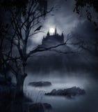 σκοτεινή σκηνή Στοκ Φωτογραφία