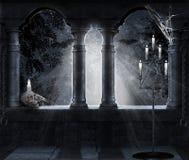 σκοτεινή σκηνή Στοκ φωτογραφίες με δικαίωμα ελεύθερης χρήσης