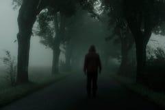σκοτεινή σκιαγραφία Στοκ φωτογραφία με δικαίωμα ελεύθερης χρήσης